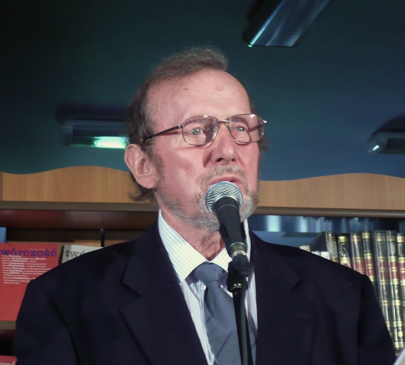 Ernest Bryll, fot. Tomasz Leśniowski (ps. David Magen)