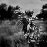 Immortals. Mexica culture. Nahui. Mexico 2009. Copyrights Krystian Bielatowicz / www.bielatowicz.com