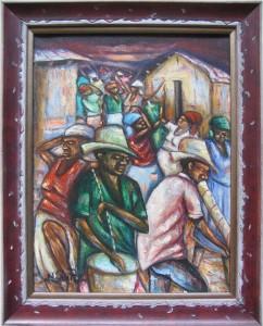 Haitańska sztuka naiwna -Nicolson Simpson - Rara