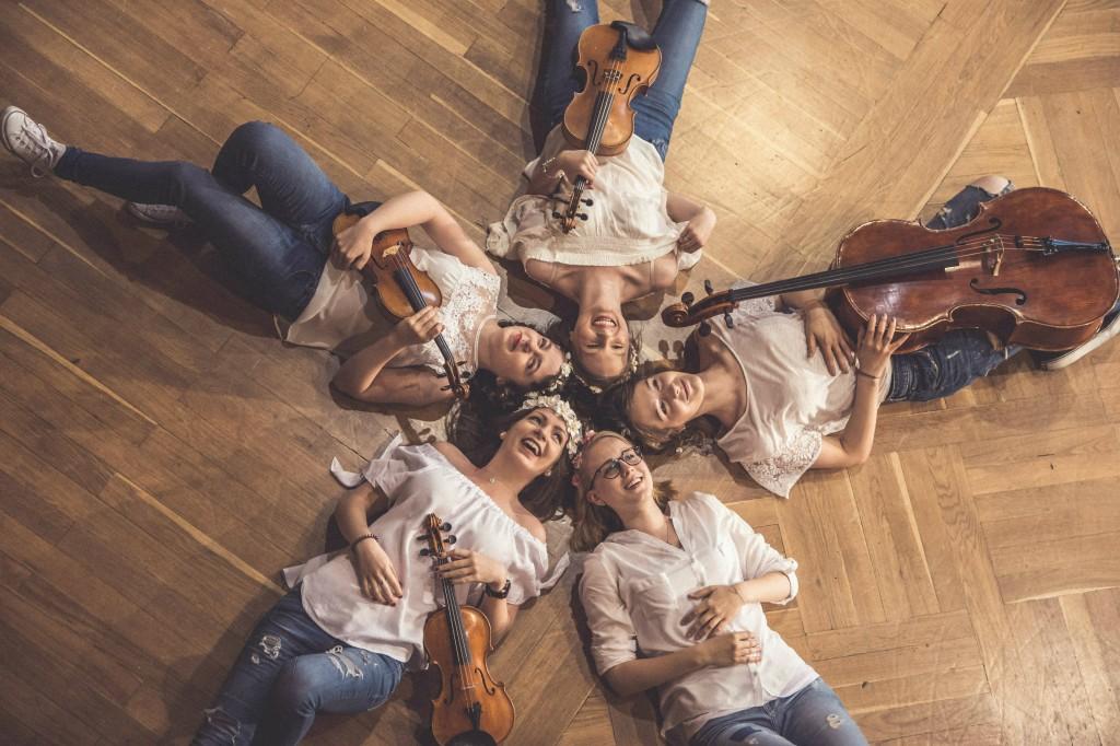 Kwartet Infinito ft Maria Mieszczankin