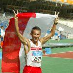 Robert Korzeniowski Igrzyska Olimpijskie Ateny 2004, fot.: Tomasz Markowski/Przegląd Sportowy