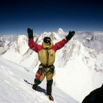 K. Wielicki na szczycie Gasherbrum I (8068m) 1995 r.