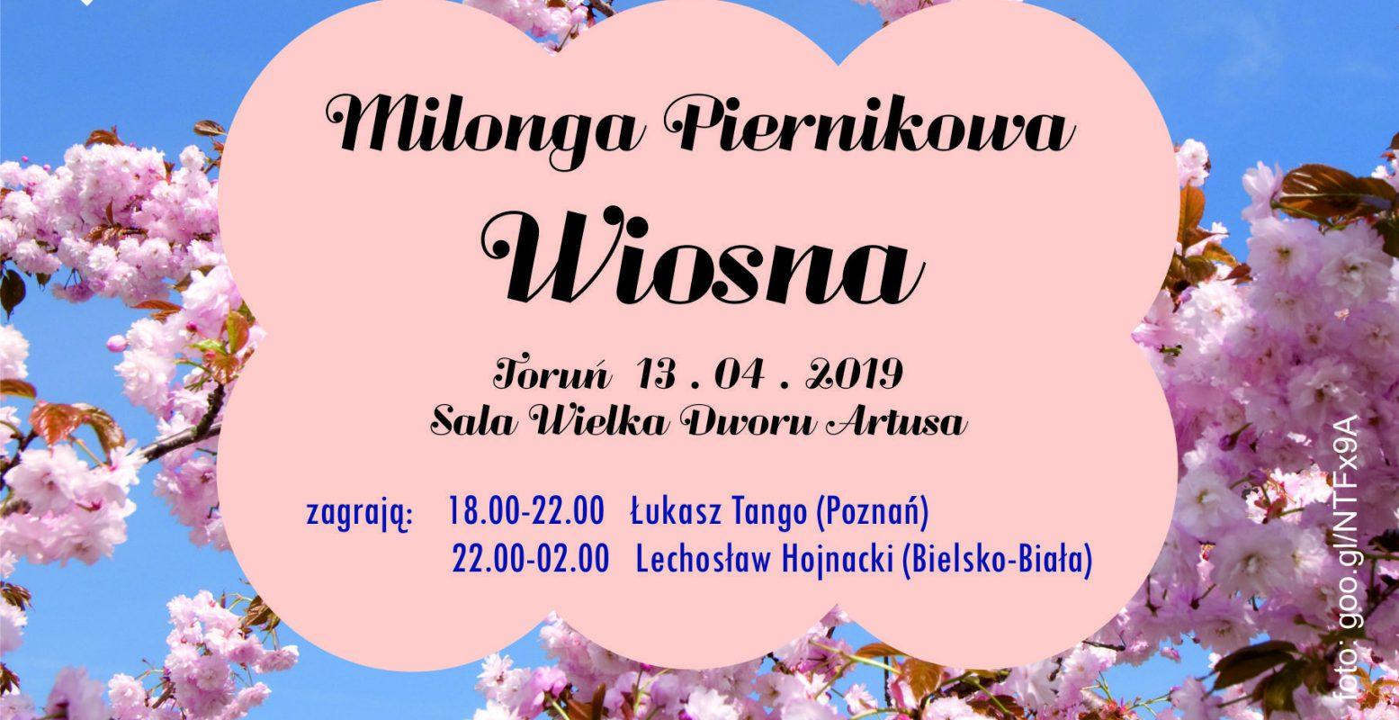 Milonga Piernikowa - Wiosna 2019